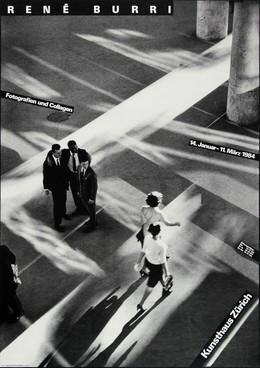 René Burri – Photographies et collages – 25 mai – 30 juillet 1984, Werner Jeker