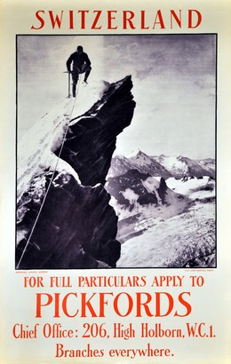 SWITZERLAND – For full particulars apply to PICKFORDS, Jean Gaberell