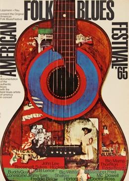 American Folk Blues Festival 1965, Michel & Kieser