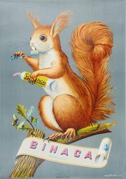 BINACA – Marke CIBA, Niklaus Stoecklin