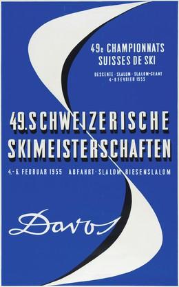 DAVOS 49. Schweizerische Skimeisterschaften, Willy Trapp