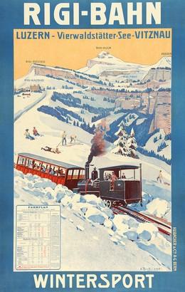 Rigi-Bahn – Luzern – Vierwaldstättersee – Vitznau, Anton Reckziegel