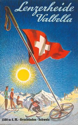 Lenzerheide – Valbella – 1500 m.ü.M., Franz Gygax