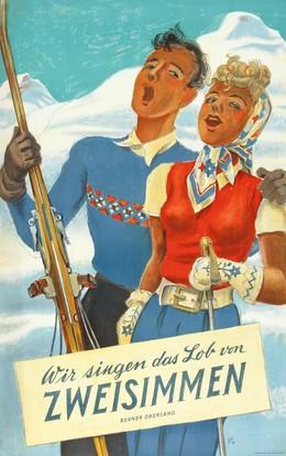 Wir singen das Lob von ZWEISIMMEN, Hugo Laubi