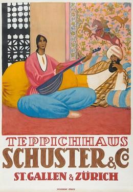 Teppichhaus Schuster & Co. – St. Gallen & Zürich, Emil Cardinaux