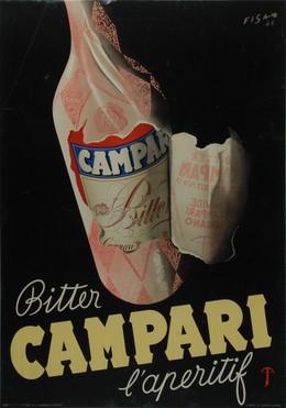 Bitter Campari l'apéritif, Carlo Fisanotti