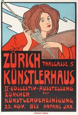 Zürich Künstlerhaus – Thalgasse 5 – Ausstellung der Zürcher Künstlervereinigung, Fritz jun. Boscovits