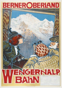 Bernese Oberland – Wengen, Artist unknown
