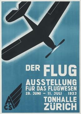 DER FLUG – Ausstellung für das Flugwesen – Tonhalle Zürich, 19. Jh. CH Agys