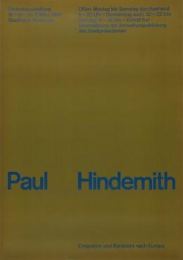 Paul Hindemith. Emigration und Rückkehr nach Europa, 1966., Fritz Querengässer