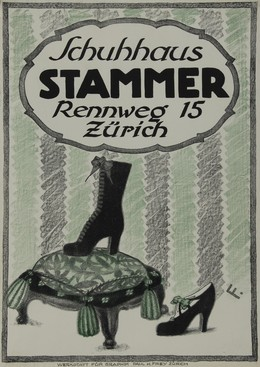 Schuhaus STAMMER Rennweg 15 Zürich, Paul H. Frey