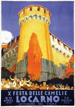 LOCARNO – X. Festa delle Camelie – Settimana del fiore 1934, Daniele Buzzi