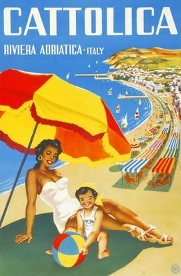 Cattolica Riviera Adriatico Italy, Artist unknown