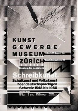 Museum of Design Basel, Wolfgang Weingart