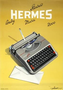 HERMES – Baby Standard Media 2000 – Ein Paillard Erzeugnis, Herbert Leupin