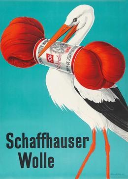 Schaffhauser Wolle, Hans Aeschbach