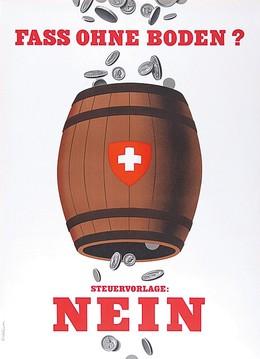 Bottomless barrel? No to the tax bill, Peter Birkhäuser
