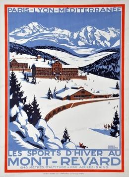 PLM Mont Revard – wintersports, Roger Broders
