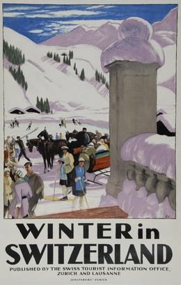 Winter in Switzerland, Emil Cardinaux