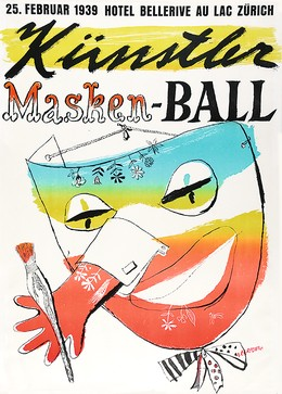 Künstler-Masken-Ball Zürich, Alois Carigiet
