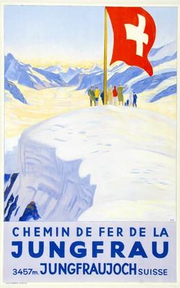 Chemin de Fer de la JUNGFRAU 3457M. JUNGFRAUJOCH SUISSE, Emil Cardinaux