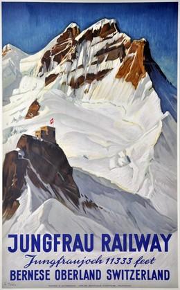 Jungfrau Railway Jungfraujoch 11333 feet Bernese Oberland Switzerland, Ernst Hodel