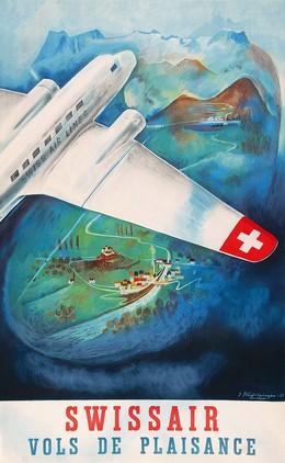 SWISSAIR – Vols de Plaisance, Eugen Häfelfinger