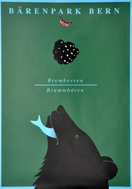 Bärenpark Bern – Brombeeren Brommbären Aare, Claude Kuhn