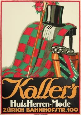 Kaller's Hut & Herren-Mode Zürich Bahnhofstrasse 100, de Praetere Jules