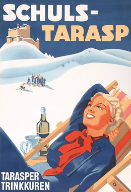 Schuls-Tarasp – Tarasper Trinkkuren, W. Stauffer