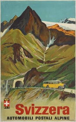 Svizzera – Automobili postali alpine, Hans Beat Wieland