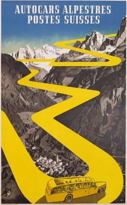 Autocars alpestres postes suisses, Herbert Berthold Libiszewski