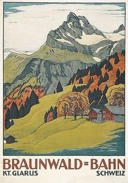Braunwald-Bahn – Kt. Glarus – Schweiz, Ernst Emil Schlatter
