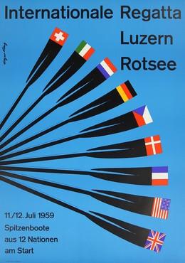Internationale Regatta Luzern Rotsee, Edgar Küng