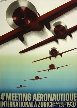 4e Meeting Aéronautique International à Zurich 1937, Otto Baumberger