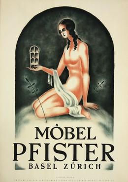 Möbel Pfister – Basel Zürich, Kunstgewerb. Atelier der Möbel Pfister AG