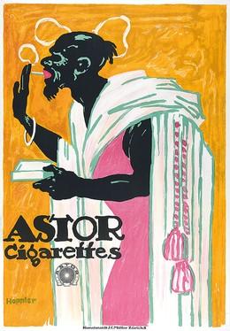 Astor Cigarettes, Hoppler Albert 1890-1919 CH