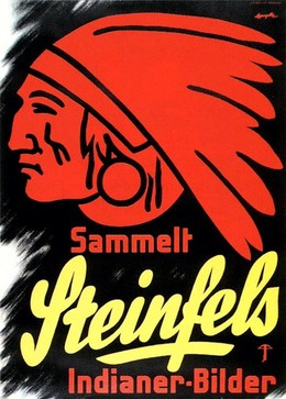 Sammelt Steinfels Indianer-Bilder, CH Appenzeller Albert