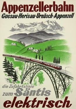 Appenzellerbahn – Gossau-Herisau Säntis – elektrisch, Kägler