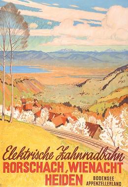 Elektrische Zahnradbahn Rorschach, Wienacht, Heiden – Bodensee Appenzellerland, Wilhelm Friedrich Burger