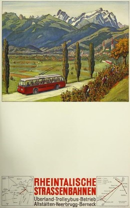 Rheintalische Strassenbahnen, Ernst Emil Schlatter
