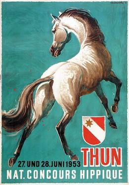 Nationaler Concours Hippique – Thun 1953, Iwan Edwin Hugentobler