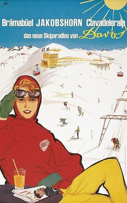 Brämabüel – Jakobshorn – Clavadeleralp – das neue Skiparadies von Davos, René Mühlemann