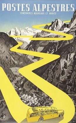 Postes Alpestres – Itinéraires nouveaux et variés, Herbert Berthold Libiszewski