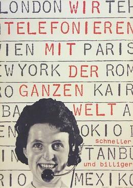 Telefonieren, Josef Müller-Brockmann