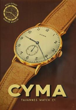 Cyma Tavannes Watch Co., A. Galib