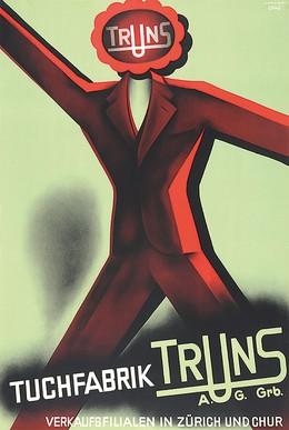 Tuchfabrik Truns GR, Eberli, 20., Jh. CH