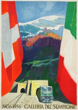 1906 – 1956 – Galleria del Sempione, Adrien Holy