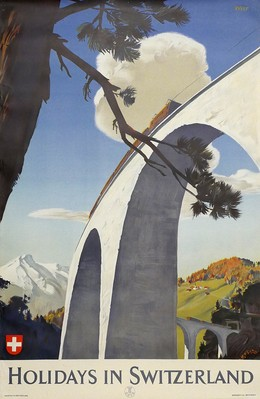 Holidays in Switzerland, Edmund Welf