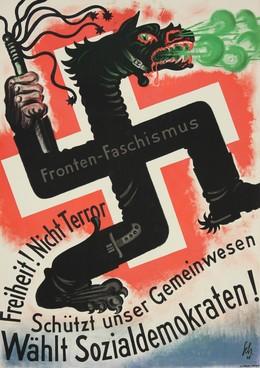Freiheit ! Nicht Terror – Wählt Sozialdemokraten !, Carl Scherer